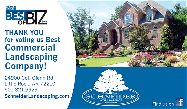 Voted Best Little Rock Commercial Landscape Company